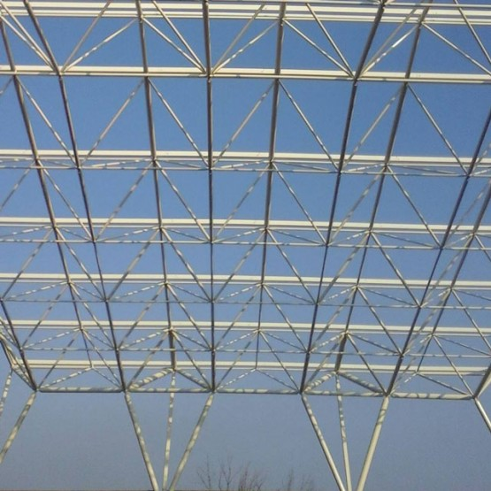 Space frame structure in Crangas, Bucharest