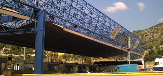 Elefsina Toll Station - Slider Image